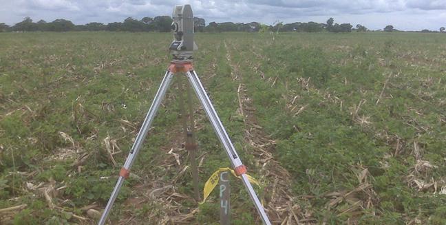Levantamento Planialtimétrico - Para demarcação de áreas irrigadas com objetivo de plantio, controle de erosão e monitoramento ambiental.